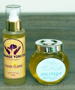 combo dau massage body - yoni